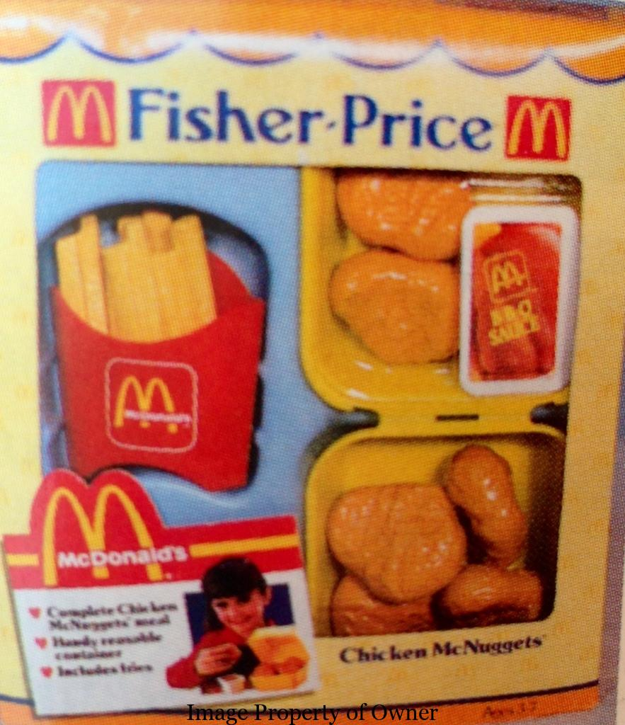 McDonalds Happy Meal Toys From The 80s 1989 Yello80s