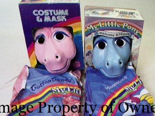 MLP Hallowe'en Costumes Cotton Candy & Moonstone