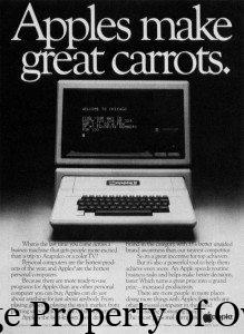 Apple Carrots ad- author unknown