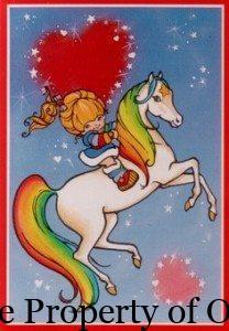 Rainbow Brite art, author unknown