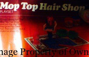 Mop Top Hair Shop Play Doh set  yello80s