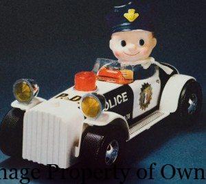 Kiddy Cop Car