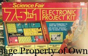 Science Fair 5 in 1 Electronic Project Kit property TooGroovyToys.com