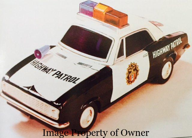 Japanese Toy Month Police Cars Yello80s