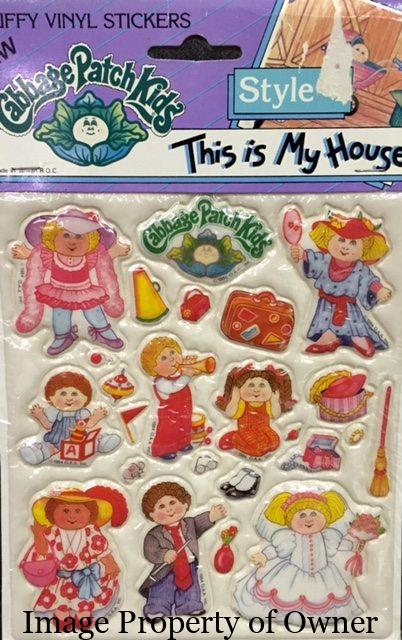 Cabbage Patch Kids Merchandise page updated!