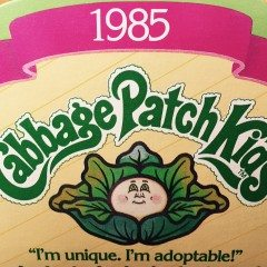 Vintage Cabbage Patch Kid lovers rejoice!