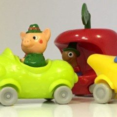 What was in your Happy Meal in- 1980?
