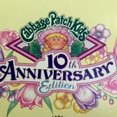 Cabbage Patch Kids Wednesday: 10th anniversary doll