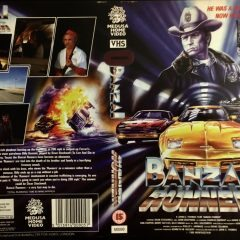 VHS Cover Art Goodies: Banzai Runner