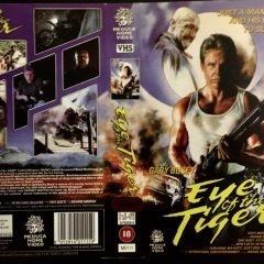 VHS Cover Art Goodies:  Eye of the Tiger