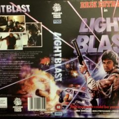 VHS Cover Art Goodies: Light Blast