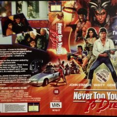 VHS Cover Art Goodies: Never Too Young To Die