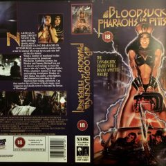 VHS Cover Art Goodies: Bloodsucking Pharaohs in Pittsburgh