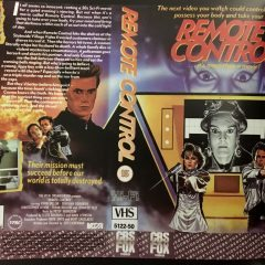 VHS Cover Art Goodies: Remote Control