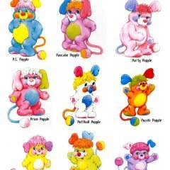 Popples Wednesday: Meet the Popples old and new