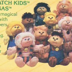 Cabbage Patch Kids Wednesday!  1984 Kids and Merchandise insert